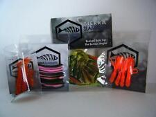 Soft Plastic Fishing Baits & Lures SIERRA SLAMMERS Trout Pack, Redfin,Saltwater