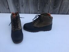 Vans LXVI Vibram Hiking Boots Brown Rare Promo New NOS Mens Size 10 Chukka Ankle