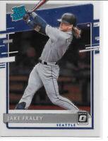 2020 Donruss Optic Baseball Rated Rookie JAKE FRALEY SEATTLE MARINERS #80