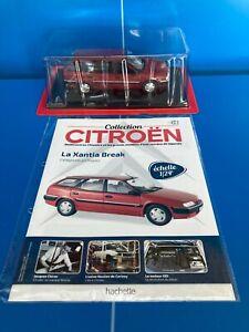 1/24 Collection Citroën N°51 LA XANTIA BREAK voiture miniature Hachette 🪓