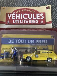 "DÉCOR"" VÉHICULES UTILITAIRES "" IXO/ALTAYA RENAULT 12 MICHELIN r12 pneus"