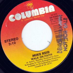 """MIKE REID - Walk On Faith 7"""" 45"""
