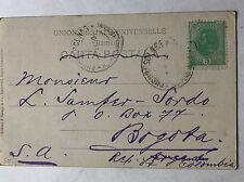 Romania (bucuresci) - 21 SEP 1904-come AK a Bogotà Colombia