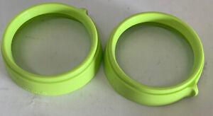 Comotomo 2 Pack Replacement Collar (Ring) , Green