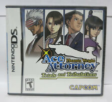 Phoenix Wright: Ace Attorney Trials and Tribulations NDS (Nintendo DS, 2007) NEW