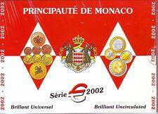 COFFRET  B.U.  MONACO   2002   1 C  A  2  EURO  SOUS BLISTER