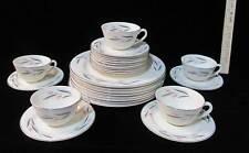 Knowles Carlton 27 Piece Set Dinner Plates Bread Butter / Dessert Cup & Saucers