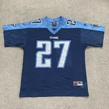 "Official Tennessee Titans "" George #27 "" NFL Jersey - Youth MEDIUM Ladies SMALL"