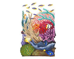 Tatouage Coral Reef add-on sheet Dry Rub Transfer