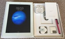 *IMMACULATE*iPad 4th Gen- 32GB, Wi-Fi, 9.7in Retina display-White.Contents+Extra