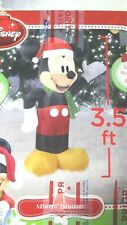 DISNEY MICKEY MOUSE CHRISTMAS AIRBLOWN INFLATABLE LED LIGHTS UP YARD DECOR new