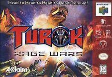TUROK RAGE WARS N64 NINTENDO 64 GAME COSMETIC WEAR