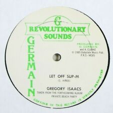 """Gregory Isaacs """"Let Off Sup-M"""" Reggae 12"""" Germain mp3"""