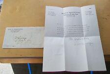 BOARD OF TRANSPORTATION NEW YORK LETTER TO U.K. RE BUS LINES MAPS OCTOBER 1946