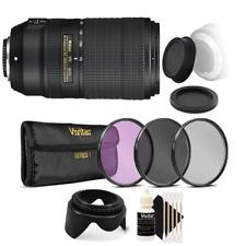 Nikon AF-P DX NIKKOR 70-300mm f/4.5-6.3G ED VR Lens with Top Bundle