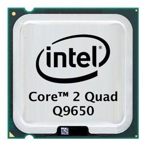 Intel Core 2 Quad Q9650 (4x 3.00GHz) SLB8W CPU Sockel 775    #1521