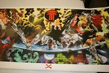 Giant Marvel Limited Lithograph Earth X Monster Poster Print FREE SHIPPING!