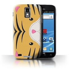 STUFF4 Back Case/Cover for Samsung Galaxy S2 Hercules/T989/Animal Stitch Effect