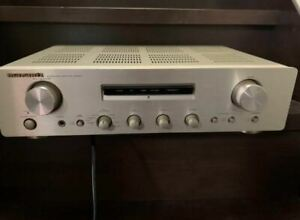 Marantz PM-4001 Stereo Integrated Amplifier Siver From Japan - works [TGJ]