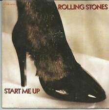 ROLLING STONES Start me up FRENCH SINGLE PATHE MARCONI 1981