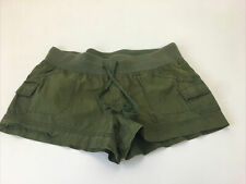 Junior's OP Solid Green Shorty Booty Shorts Sz 13