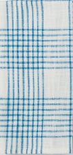 Kay Dee Designs Beach House Inspirations Tea Towel Ocean Blue Plaid Cotton A8601
