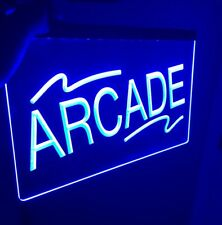 ARCADE ROOM LED Light Neon Sign for Game Room,Office,Bar,Man Cave, Arcade Room.