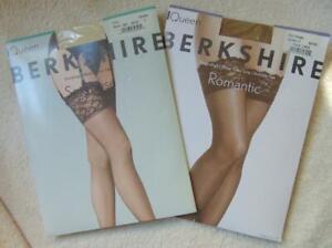 Berkshire Thigh High Sheer Nylons Queen 2 Romantic City Beige Sexyhose Ivory NE