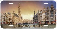 Brussels Belgium Novelty Car License Plate