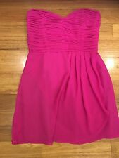 Portmans Strapless Dress Size S Pink New Bnwt  Rrp$129
