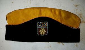 Curious Cap Of Police With Fleurs De Lys, 2 Th D. I. U.S Legion D'Honneur