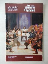 May 24th, 2003 - Festival Theatre Playbill - The Adventures Of Pericles - Goad