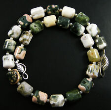 OUTRAGEOUSLY VIBRANT!!! AAA+++ NATURAL OCEAN JASPER NUGGETS Necklace
