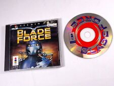 PANASONIC 3DO BLADE FORCE VIDEO GAME COMPLETE 1995