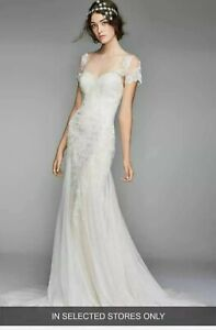 Willowby by Watters Wedding Dress LIAN with ELARA Jacket Size 10 IVORY NEW!!
