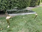 PACE Manufacturing Company Spain 1960s Hollywood Regency Brass Coffee Table