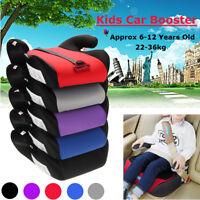 Car Booster Seat Safe Pad Sturdy Kid Children Child Fits 6-12 Years  l+ .-
