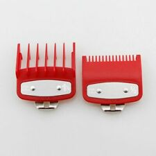 2pcs Hair Clipper Limit Comb Guide 1.5mm/4.5mm Size Barber Replacement For Wahl