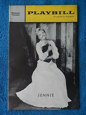 Jennie - Majestic Theatre Playbill - October 28th, 1963 - Mary Martin - Wallace