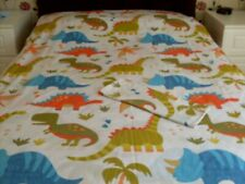 "BOYS DUVET SET ""DINOSAURS"" by SUSAN GEORGE. GOOD CLEAN CONDITION"