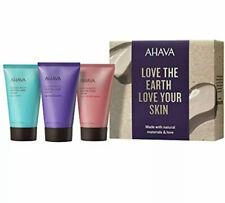 Ahava Hand Cream Gift Set Naturally Silky Hands Mineral Treatment 3 Pc. Gift Set