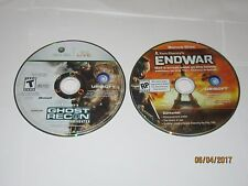 Xbox 360 - Ghost Recon AW w/ End War Bonus Disc  - Disc Only