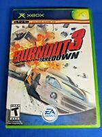Burnout 3: Takedown (Microsoft Xbox, 2004)