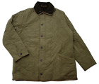 BARBOUR MICROFIBRE POLARQUILT JACKET in LIGHT OLIVE