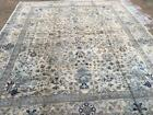 Antique Hand Knotted Large Indian Rug 12x15 Feet