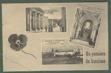 LANCIANO (Chieti). Cartolina d'epoca, viaggiata nel 1912. Ottima conservazione.