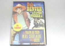 Spanish DVD The Wackiest Wagon Train In The West Bob Denver Forrest Tucker NEW