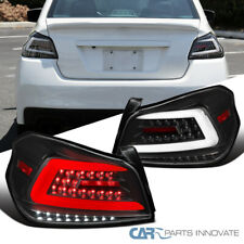 Tail Lights For Subaru 15-19 WRX/WRX STI Black Sequential LED Brake Lamps