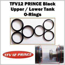 6 - TFV12 PRINCE Black Upper / Lower Tank Orings ( ORing O-Rings smok Seals )