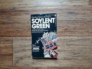 Make Room! Make Room! by Harry Harrison  Soylent Green Movie Cover